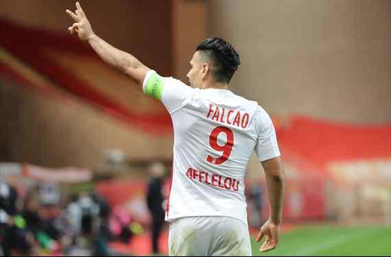 Le guardan el '9' a Falcao: la negociación con un equipo de Champions