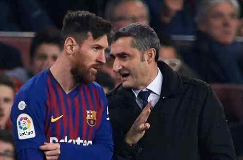 Valverde llama al orden a Messi: La bronca que están tapando desde el club
