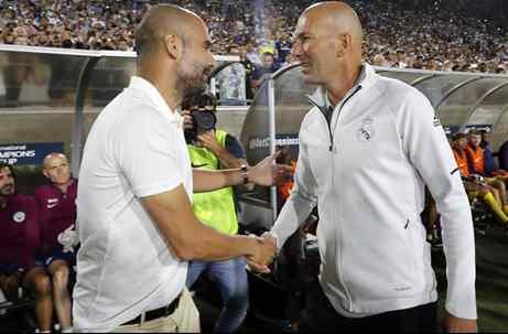 Zidane pierde el mano a mano con Pep Guardiola: el jugador que elige el Manchester City