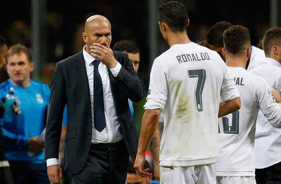 Cristiano Ronaldo pelea por robarle un galáctico al Real Madrid de Florentino Pérez y Zidane