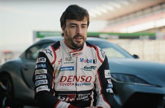Fernando Alonso suelta la bomba en los test de McLaren en Bahréin (y va de su vuelta a la F1)
