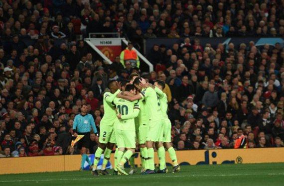 James Rodríguez se cuela en el Manchester United-Barça: el 2x1 de Florentino Pérez