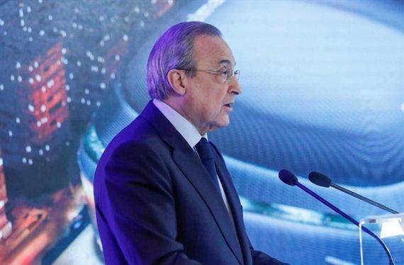 Destino sorpresa: un delantero en la agenda de Florentino Pérez para el Real Madrid encuentra club
