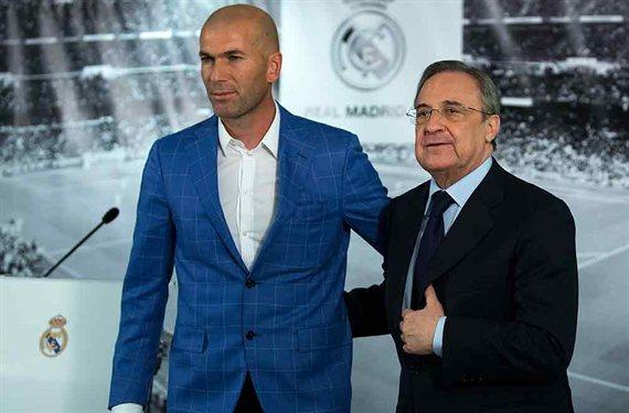 Oferta de cesión por una pieza del Real Madrid (y Florentino Pérez y Zidane quieren que se quede)