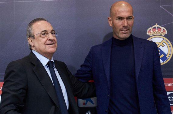 La foto que revienta a Zidane, Florentino Pérez y al Real Madrid (y no tiene ni 24 horas)