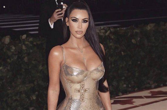 La foto de Kim Kardashian con una alitas de ángel y sin ropa que pone patas arriba Instagram