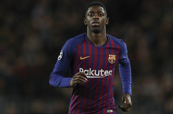 Dembelé recibe la llamada de un entrenador top para sacarlo del Barça