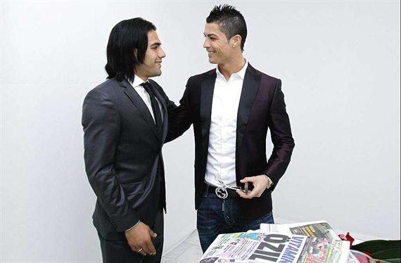 Juega con Falcao en Colombia y se ofrece a Cristiano Ronaldo (y a la Juventus)