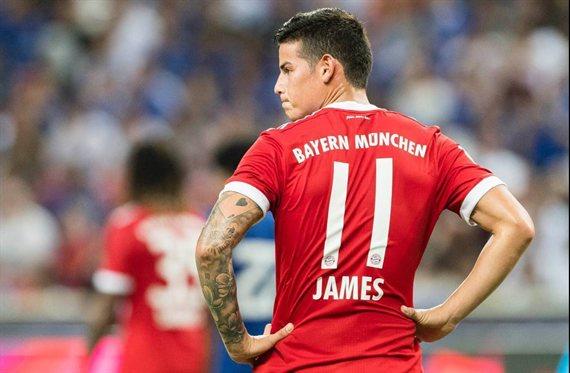 La pelea de James Rodríguez (y hay video) en el Bayern de Múnich