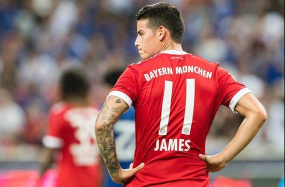 Jorge Mendes le dice a James Rodríguez donde jugará (y hay sorpresa)