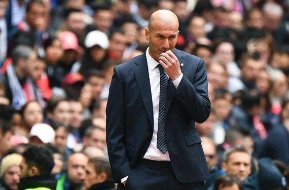 Zidane enseña la puerta de salida a dos titulares del Real Madrid