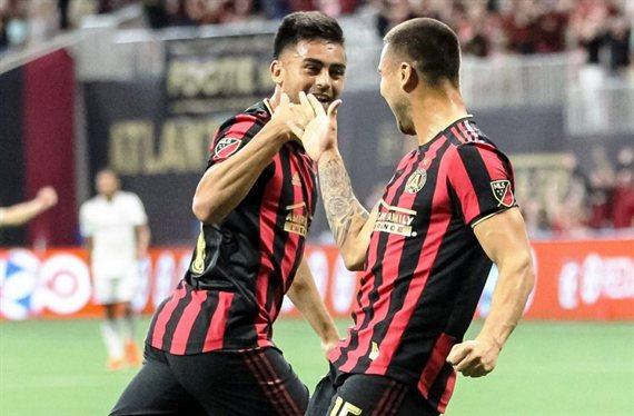 El Pity Martínez festejó por primera vez en la MLS
