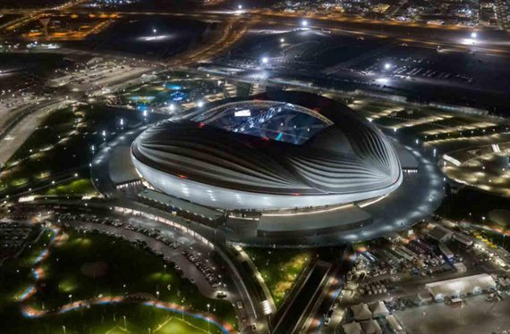 Qatar 2022: Xavi Hernández brilla en el gran estreno del estadio Al Wakrah