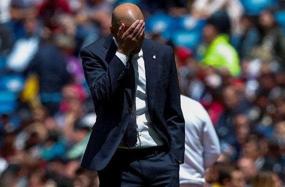 Zidane estalla contra un intocable y da luz verde a su fuga del Real Madrid