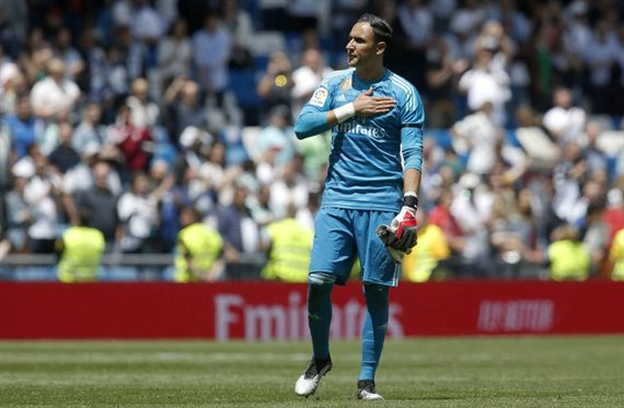 La venganza más bestia de Keylor Navas a Zidane (y Florentino Pérez)