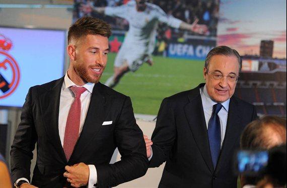 Sergio Ramos o el delantero galáctico que llama a Florentino Pérez