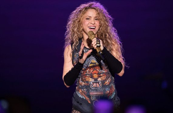 """El video inédito de Shakira en la cama (""""¡Qué fuerte!"""") que arrasa España"""