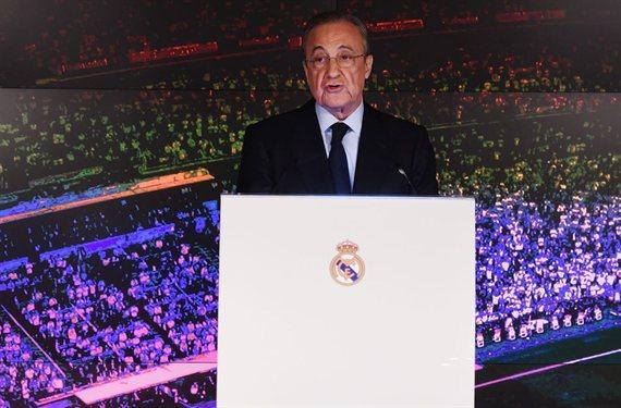 La bomba (y es doble) de Florentino Pérez para hundir a Messi (y al Barça)