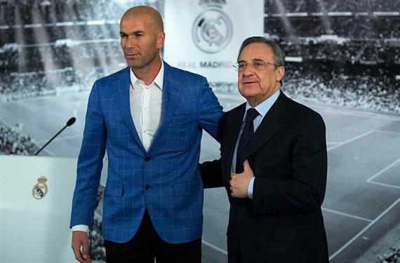 Florentino Pérez cierra un fichaje. Y Zidane no lo quiere: lío en el Madrid