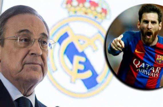 Traición a Florentino Pérez: el crack del Madrid que pidió jugar con Messi