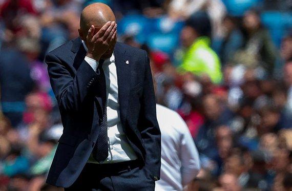 ¿Qué estás haciendo, Zidane? El peso pesado del Real Madrid que estalla
