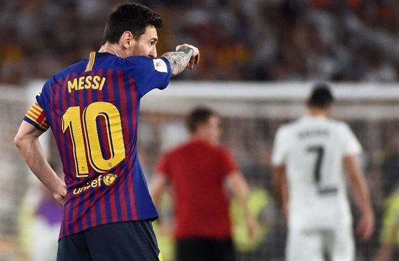 ¡Messi insultó al rival!: sale la porquería del '10' del Barça