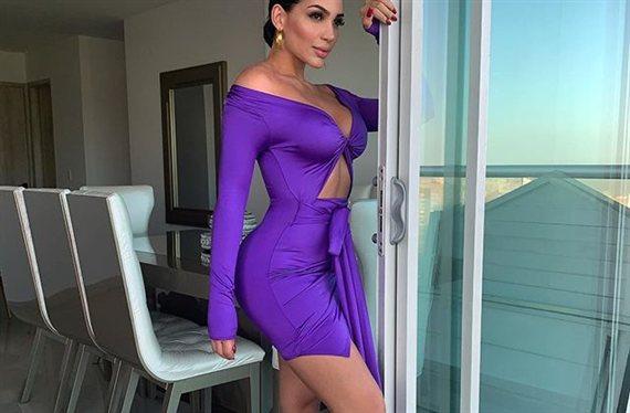 "El bikini de hilo de Andrea Valdiri a lo Jennifer López: ""¡De locos!"""