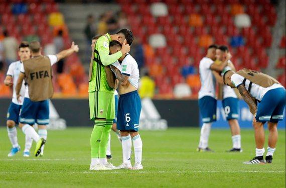 Mali suerte: Argentina cayó por penales y fue eliminada del Mundial Sub 20