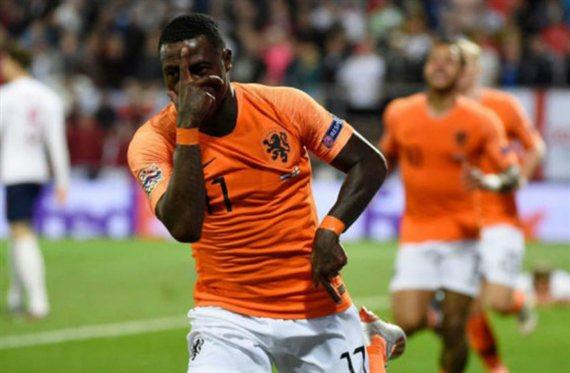 Holanda venció a Inglaterra y avanzó a la final de la Liga de las Naciones