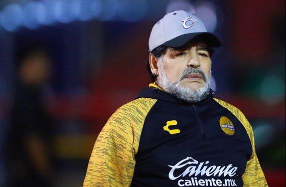 Diego Maradona no continuará en Dorados