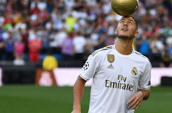 Eden Hazard elige dorsal en el Real Madrid (y no es el '7'. Y hay pelea)
