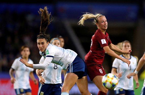 Mantiene la esperanza: Argentina cayó con Inglaterra en el Mundial Femenino