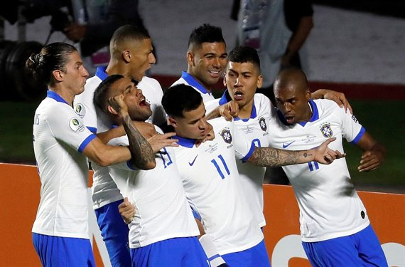 Coutinho o sin ti: Brasil goleó a Bolivia en la apertura de la Copa América