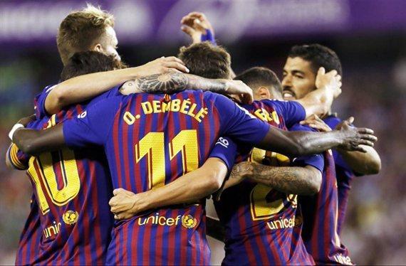 Una estrella del Barça se despide de Piqué, Messi y Luis Suárez