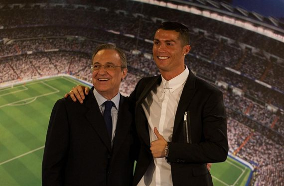 Un galáctico da calabazas a Florentino Pérez y a Cristiano Ronaldo