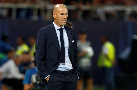 La pelea Zidane con un jugador del Real Madrid: ¡Ojo a lo que le dice!