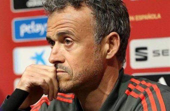 Luis Enrique no podrá seguir al frente de la roja