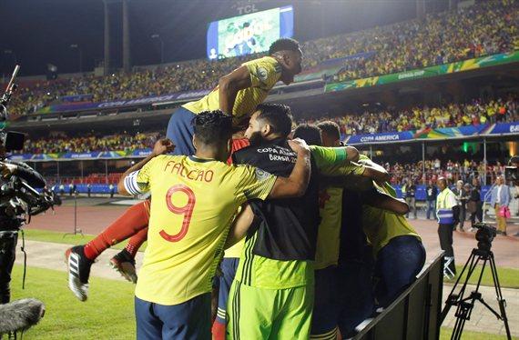 Colombia venció a Qatar y se clasificó a los cuartos de final