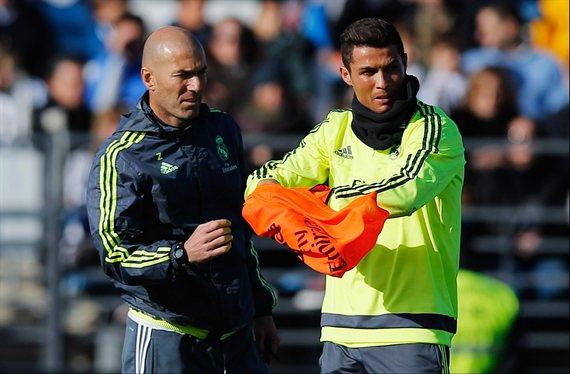 Zidane le guarda el '7' de Cristiano Ronaldo a un fichaje tapado