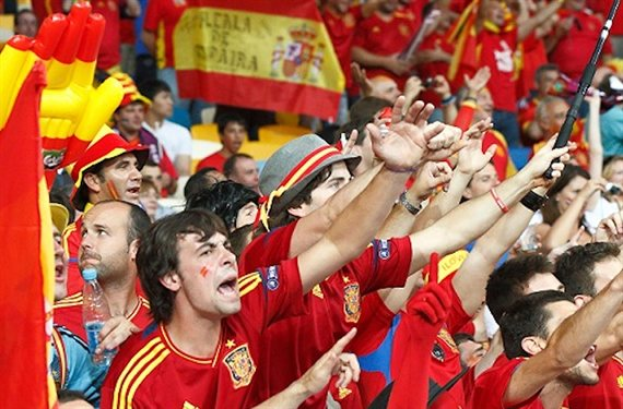 España, país futbolero por excelencia
