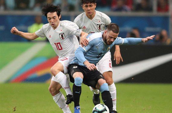 Uruguay igualó con Japón y no logró asegurar la clasificación a los cuartos