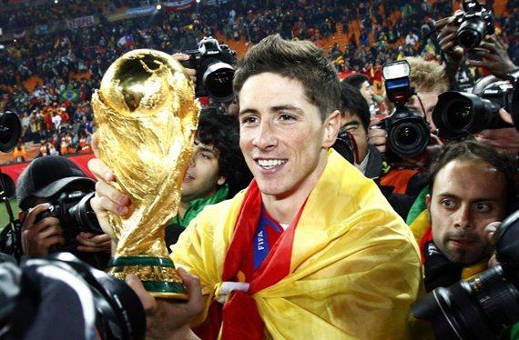 Fernando Torres es el octavo campeón del mundo con España que se retira