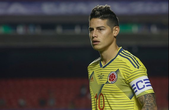 Sale la basura de James Rodríguez en el Real Madrid