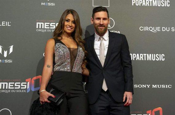 La jornada romántica de Antonela Roccuzzo y Lionel Messi