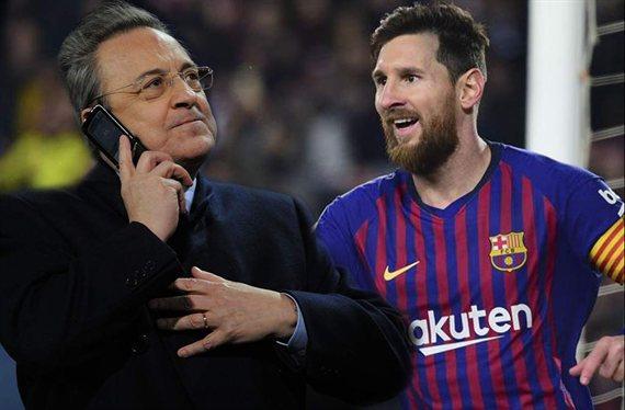 El trueque bomba que dejaría sin un galáctico a Messi y Florentino Pérez
