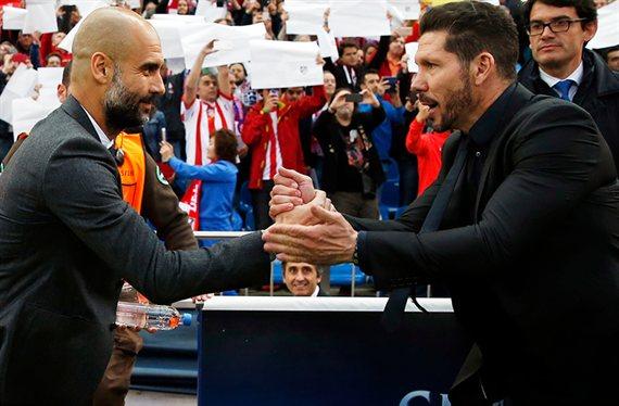 Simeone quiere pescar en el Manchester City de Pep Guardiola