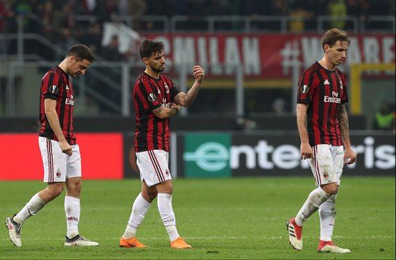 El Milan fue expulsado de la próxima edición de la Europa League