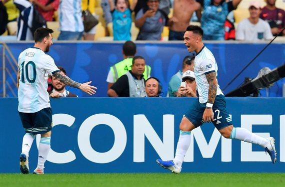 Toro en rodeo ajeno: Argentina venció a Venezuela y enfrentará a Brasil