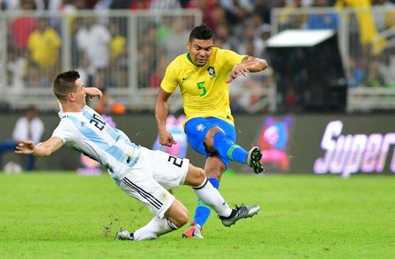 Quiénes repiten en Argentina del último partido contra Brasil