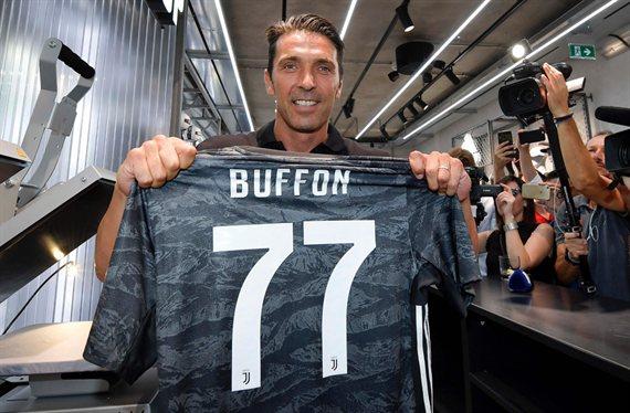 El motivo por el que Gigi Buffon usará el número '77' en la Juventus